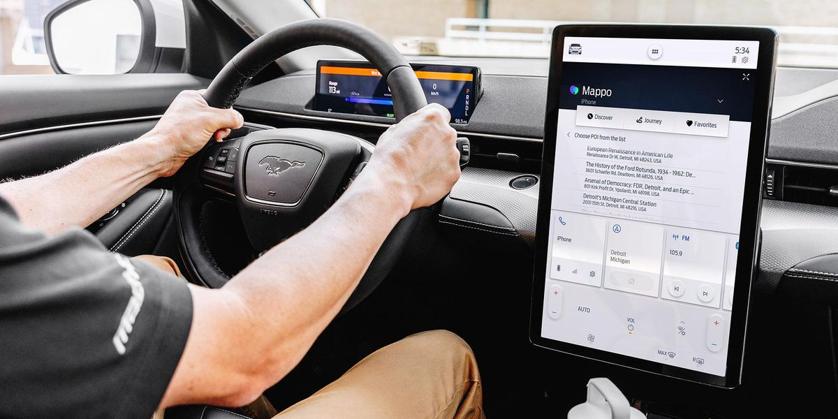 Culture-oriented travel app Mappo comes to Ford vehicles via the in-car SYNC system