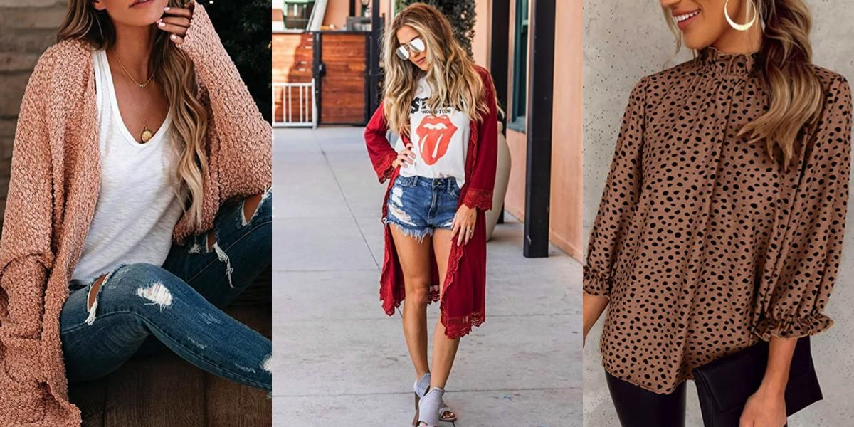 37 Amazon Clothing Items Perfect for Layering in Any Type of Weather