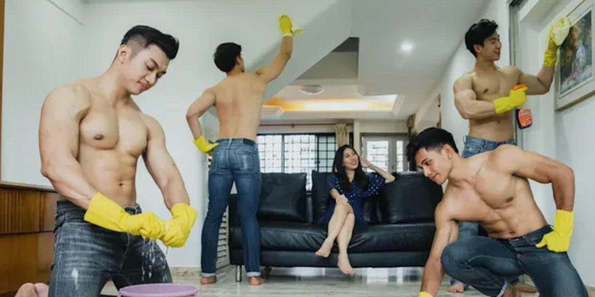 You Can Now Hire Topless Hunks To Clean Your House