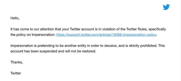 Twitter suspends Maxim journalist for allegedly impersonating ... herself?