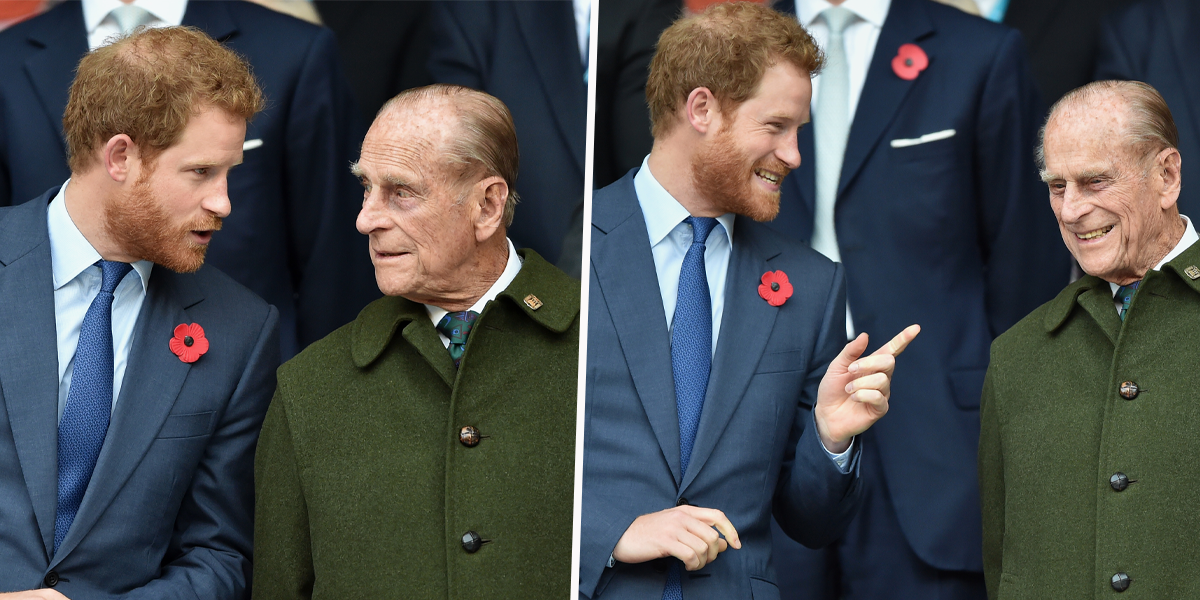 Prince Harry 'Was Set To Reunite With His Grandfather for His 100th Birthday in June'