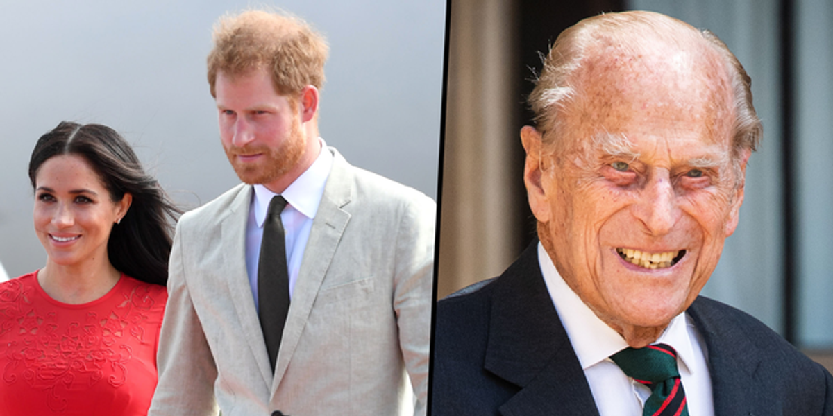 Meghan Markle and Prince Harry Share Statement Following Prince Philip's Death