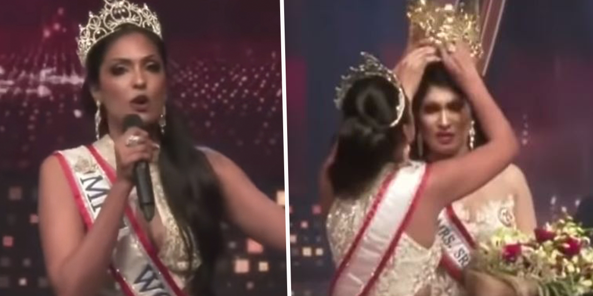 Mrs World Arrested Over Mrs Sri Lanka Crown-Snatching Debacle