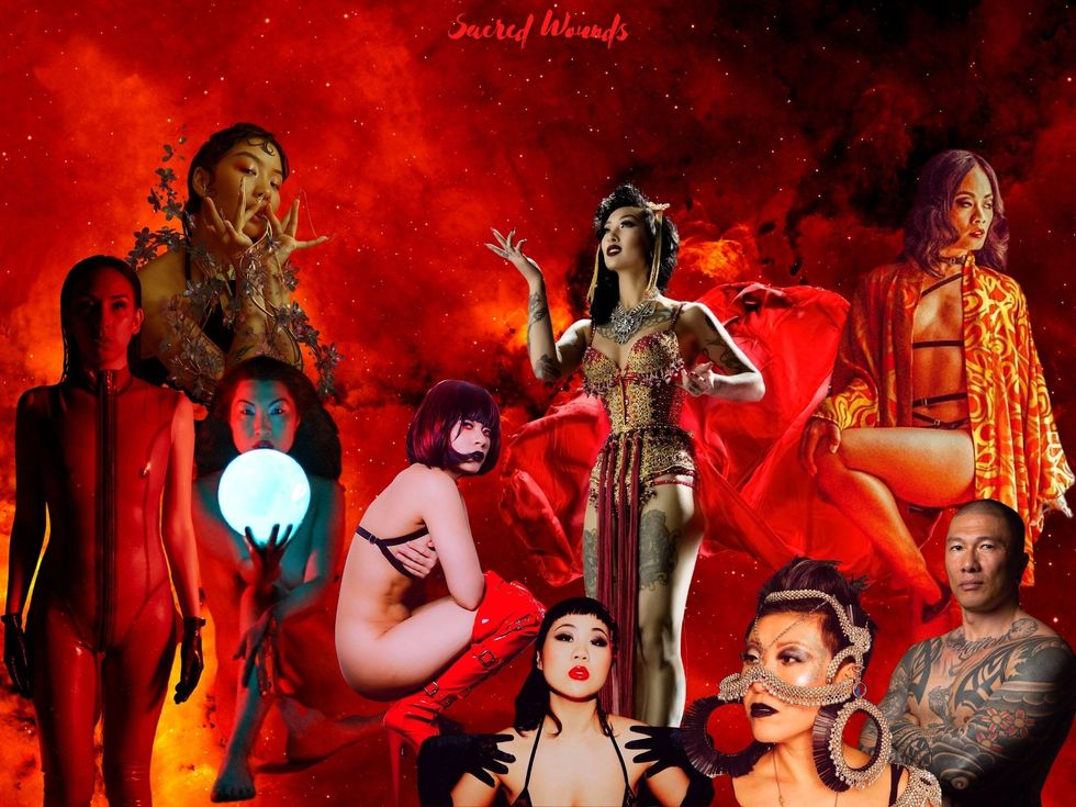 Livestream This: Queer Asian Artists Heal Ancestral Trauma in Erotic 'Sacred Wounds' Show
