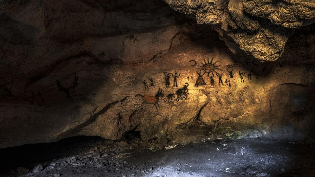 Ancient cave artists were getting high on hypoxia