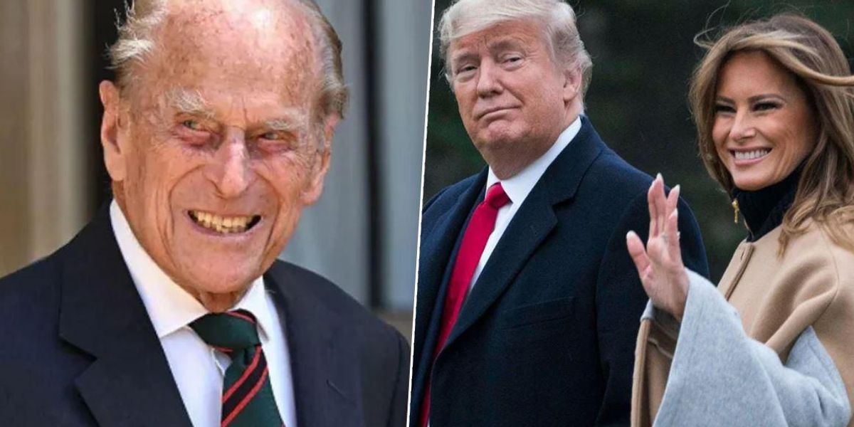 Melania Criticised For Calling Trump 'President' in Tribute to Prince Philip
