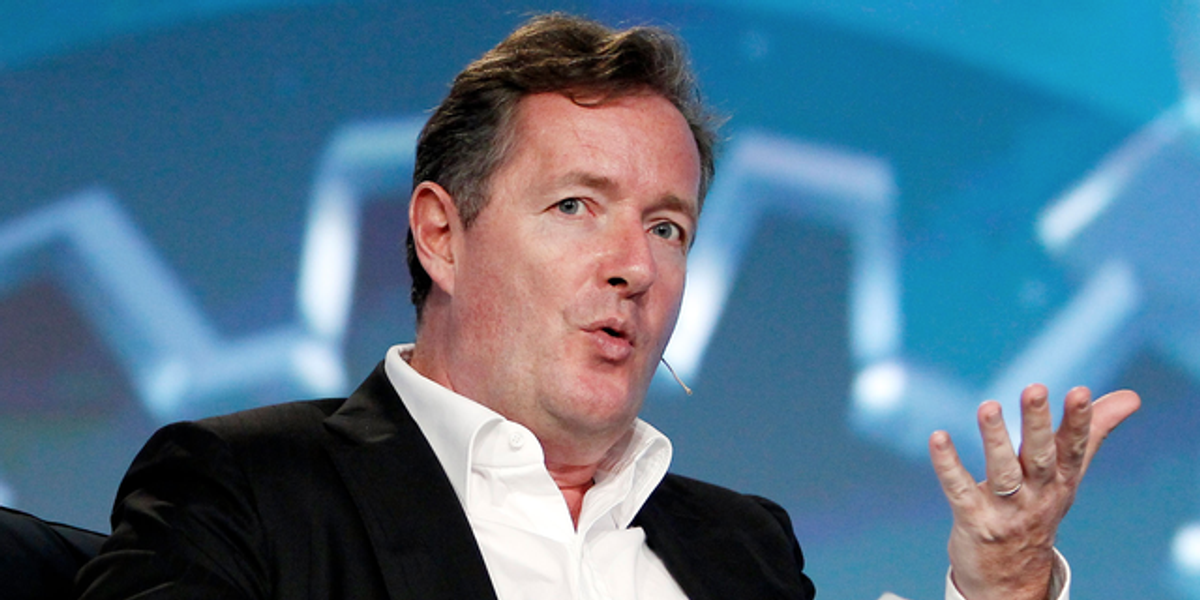 Piers Morgan Says Outcry Over Issue of Consent in 'Snow White' is a 'Sickening Woke Campaign'