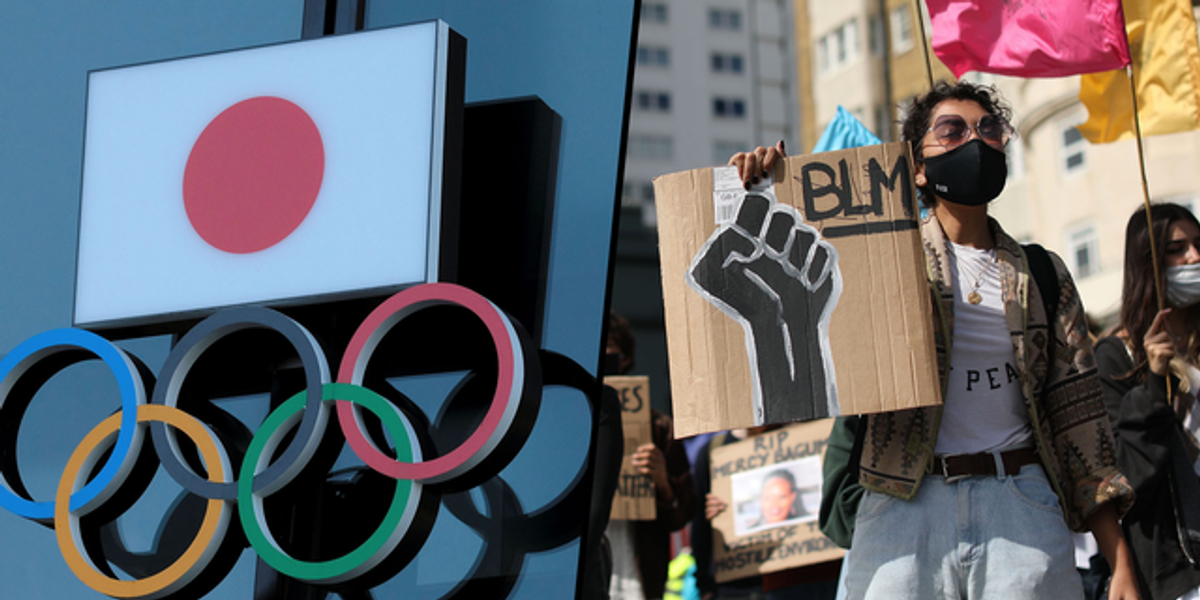 Tokyo Olympics Athletes Banned From Wearing BLM Apparel at Ceremonies