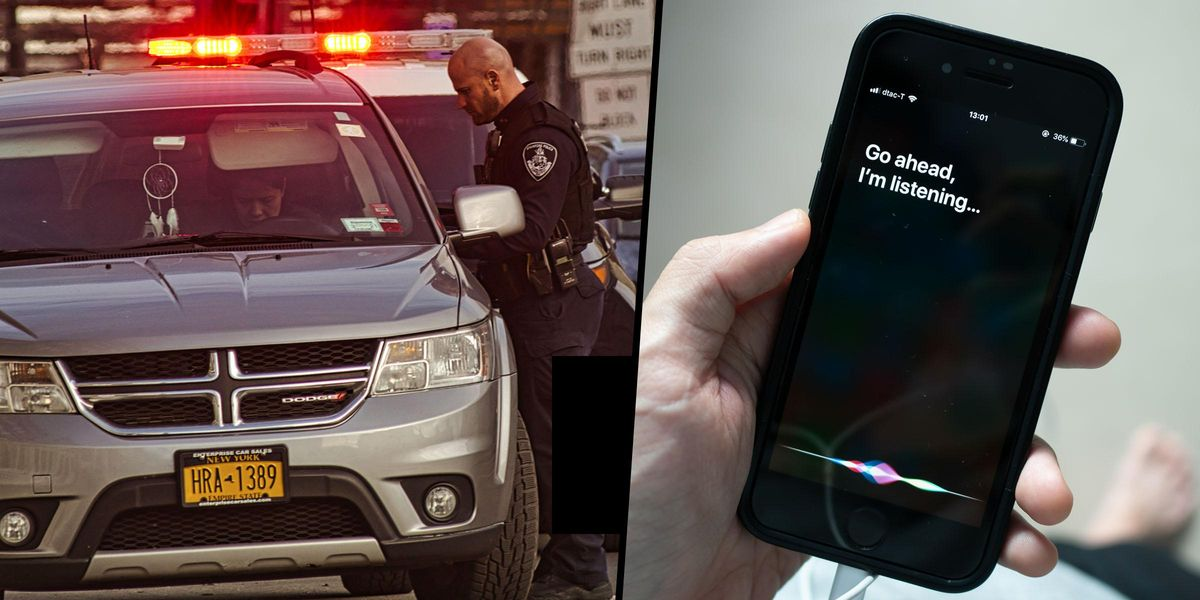 Saying 'Siri, I'm Getting Pulled Over' to Your iPhone Will Record Police Encounters During Traffic Stops