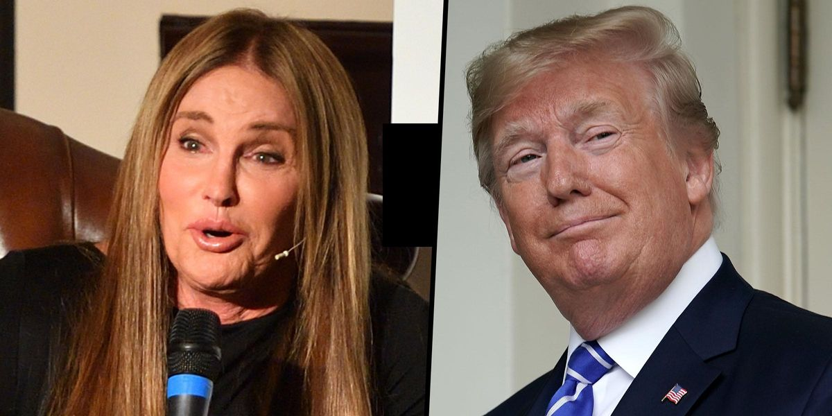 Caitlyn Jenner Praises Donald Trump and Says She's in Favor of Building 'the Wall'