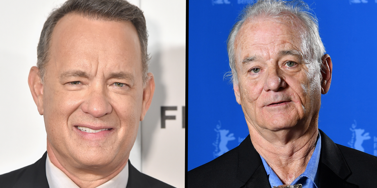 People Are Arguing Over Whether This Is a Photo of Tom Hanks or Bill Murray