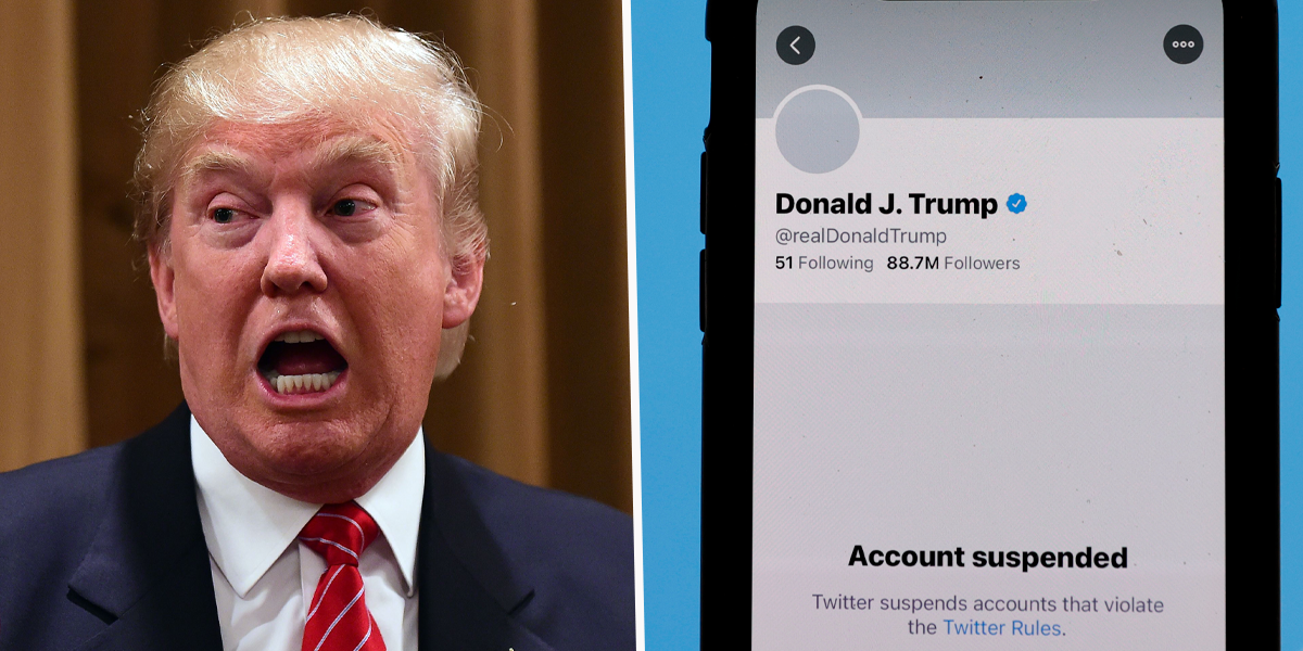 Twitter Suspends Donald Trump's New Account For Trying To Evade Ban on His Old Account