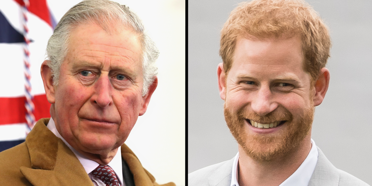 Prince Charles 'Extends Olive Branch' to Harry on Archie's Birthday