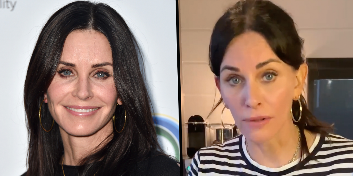 Courteney Cox Heartbreakingly Says 'Friends' Reunion Brought Up Things She'd 'Completely Forgotten About'