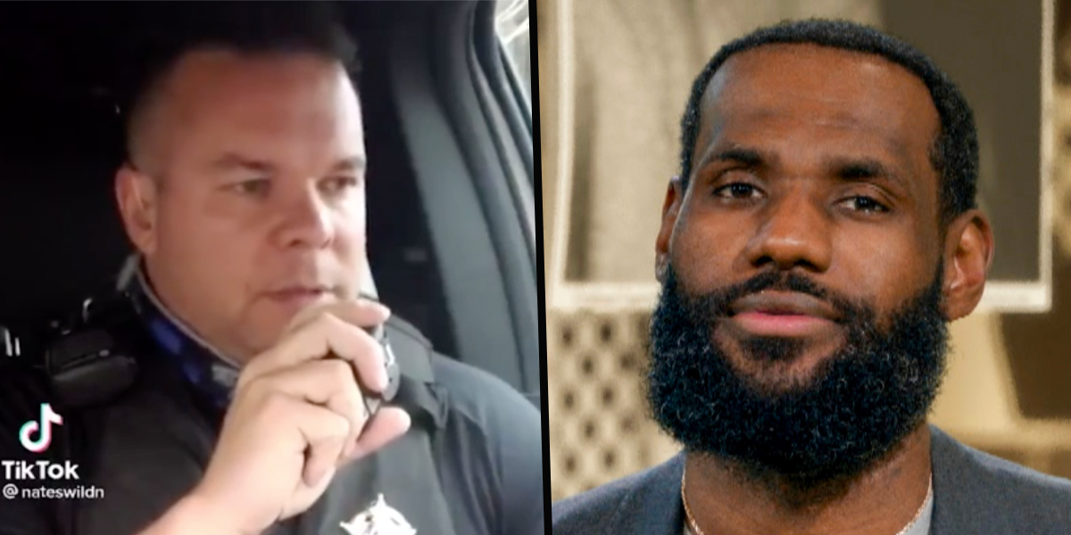 Idaho Cop Who Raised $500,000 After Mocking Lebron James Claims He's Been Given a Book Deal