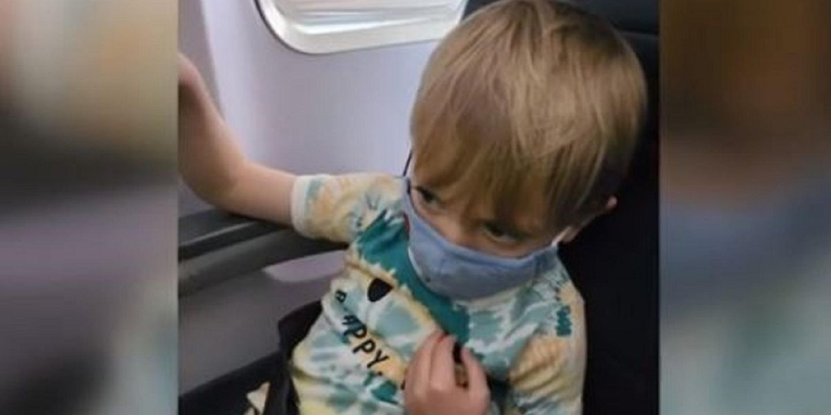 Family kicked off plane over fears disabled 3-year-old might take off his mask, mom says