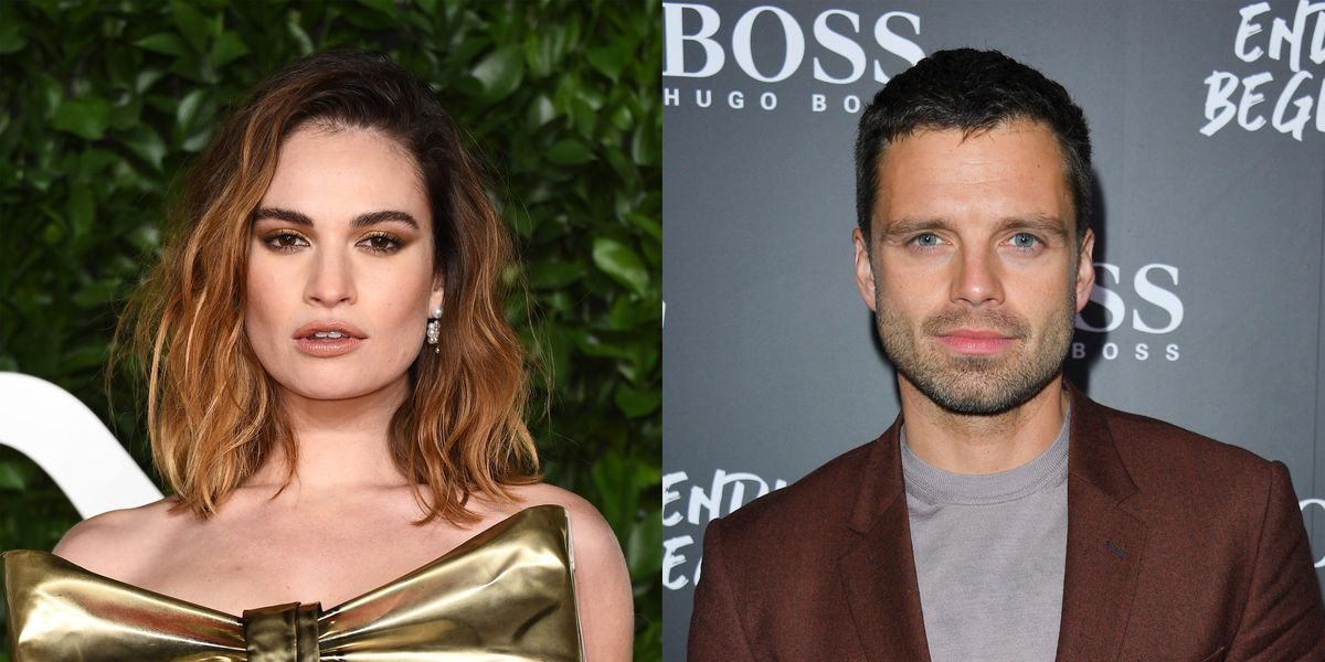 Lily James and Sebastian Stan Transform Into 'Pam and Tommy'