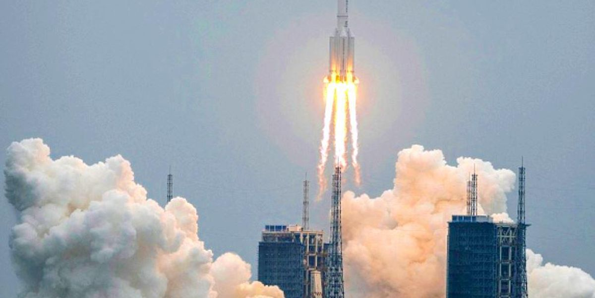 Huge Chinese Rocket Finally Crashes to Earth