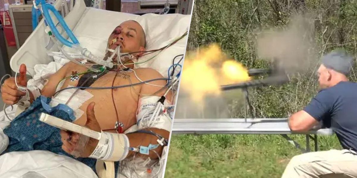 YouTube Weapons Expert Hospitalised After Sniper Rifle Explodes in Face