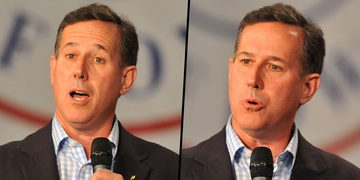 Rick Santorum Sparks Fury as He Says 'Nothing' Was in America Before White Colonizers Arrived