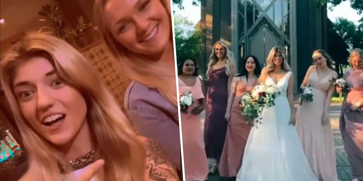 Bride Asks Strangers She Met on Bumble BFF To Be Her Bridesmaids and They All Said Yes