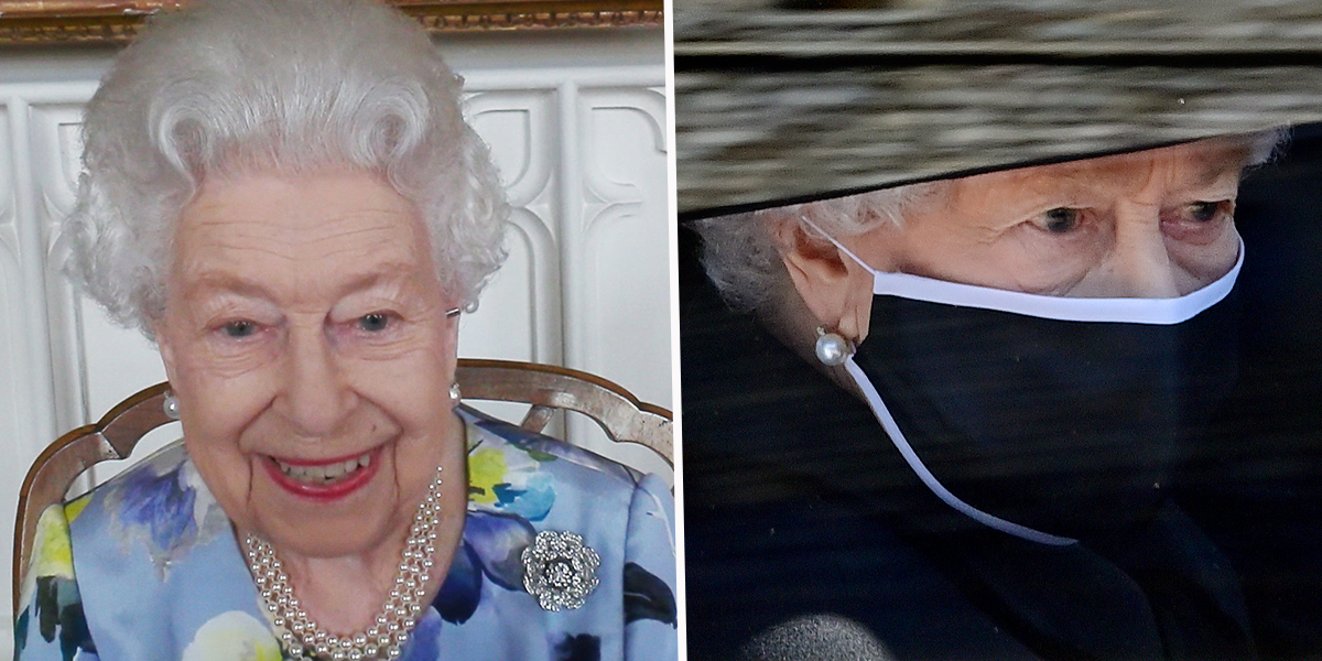 The Queen Shows a Huge Smile as She Returns to Duties Following Prince Philip's Funeral