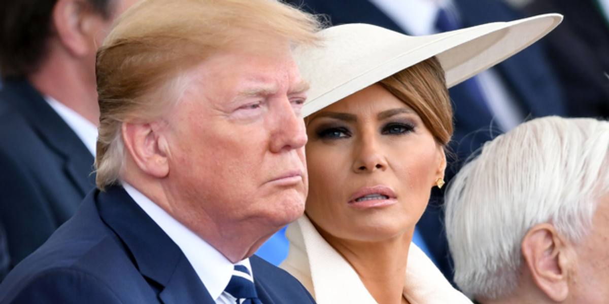 Donald Trump Called a 'Disgrace' for What He Did On Melania's Birthday