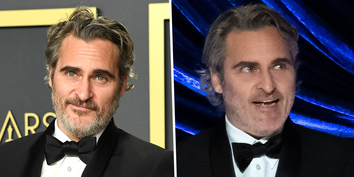 Joaquin Phoenix Wore the Same Suit From Last Year's Awards to 2021 Oscars