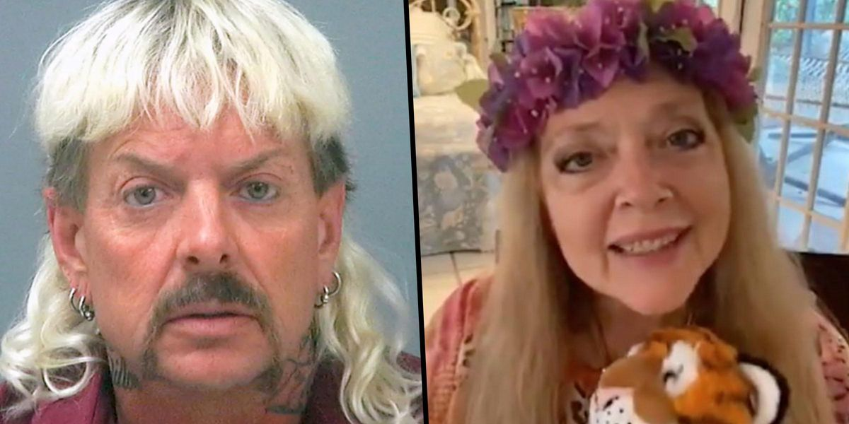 Joe Exotic Has Accepted Carole Baskin's Offer To Help Get Him Out of Jail