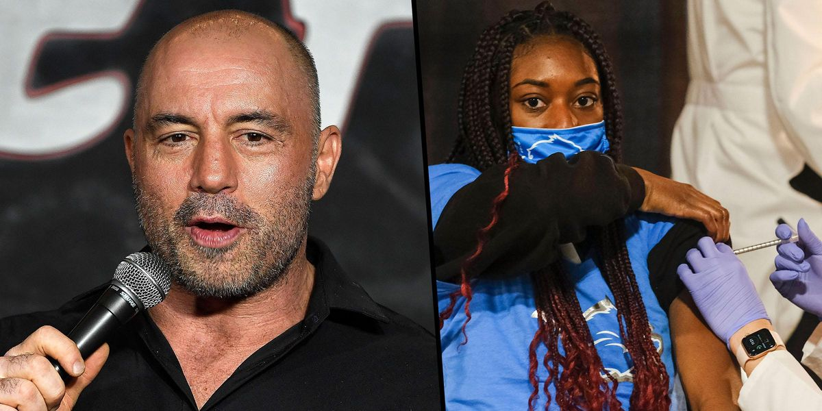 Joe Rogan Claims Young and Healthy People Shouldn't Get COVID Vaccine