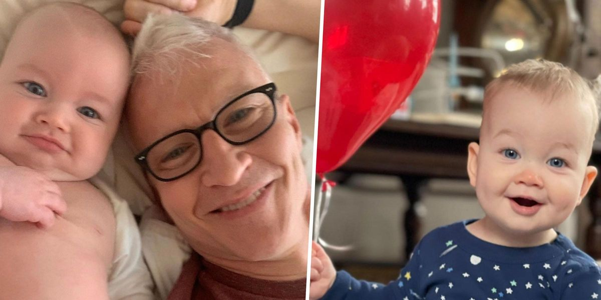 Anderson Cooper Brings Ultimate-Dad Vibes as he Celebrates 'Sweet' and 'Kind' Son Wyatt on his First Birthday