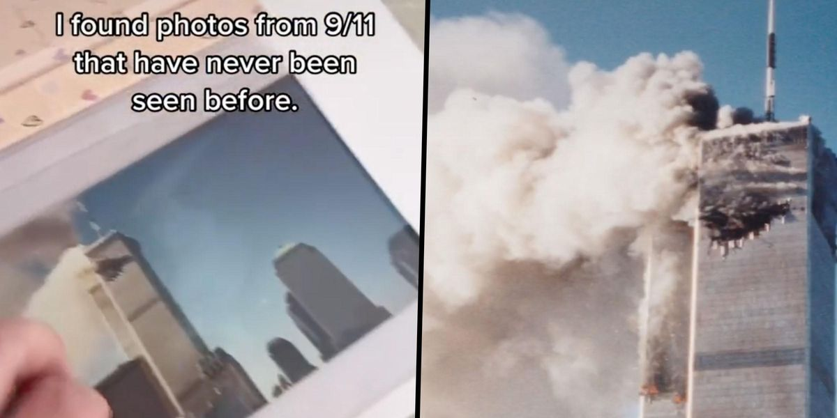 Unseen Photos From 9/11 Terror Attack Discovered in Family Album