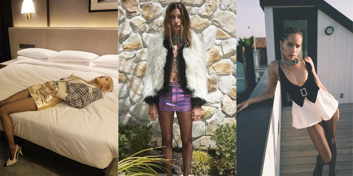 Rosé, Hailey Bieber and Zoë Kravitz Are the First to Wear New YSL