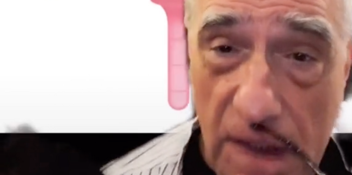 Watch Martin Scorsese Incorrectly Identify a Menstrual Cup
