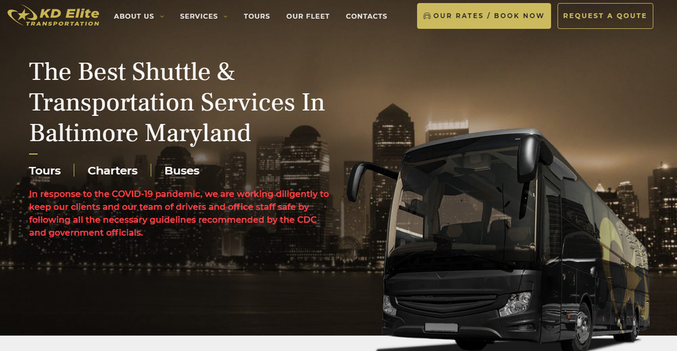 Transportation Service in Baltimore MD