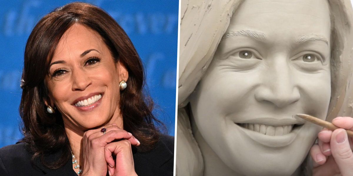 Kamala Harris Gets Wax Treatment and Becomes Madame Tussauds' First-Ever Veep
