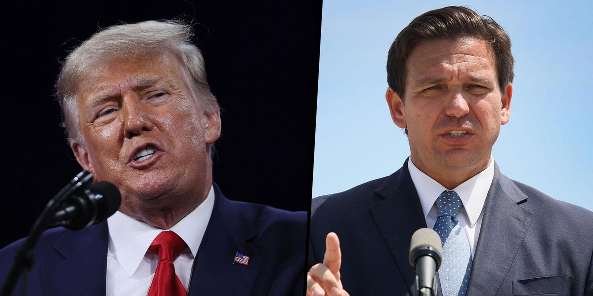 Donald Trump Says He's 100% Thinking Of Running in 2024 With Ron DeSantis as His Vice President
