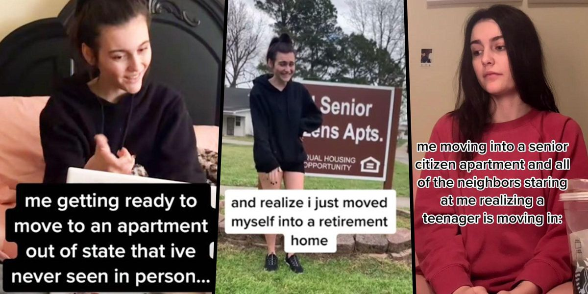 Teenager Accidentally Moves Into Senior Living Community and Documents New Life on TikTok