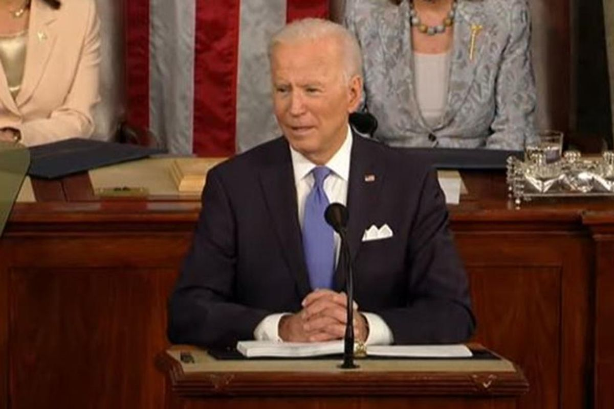 Joe Biden's first congressional address got incredibly high marks from just about everyone