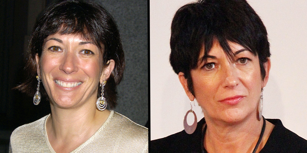 Ghislaine Maxwell Has a Black Eye in First Pic From Prison