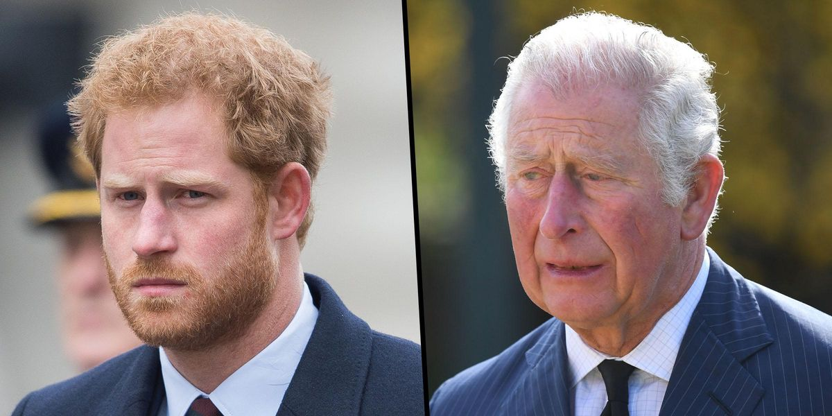 Prince Charles and Prince Harry Reportedly Won't Be 'Making Amends Anytime Soon'