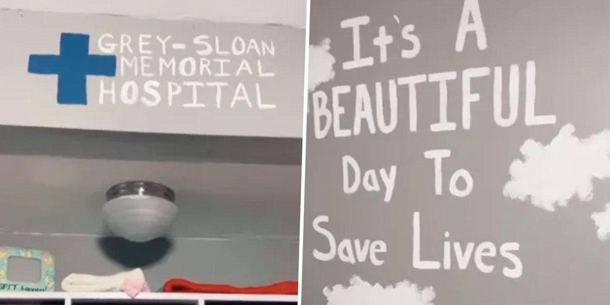People Are Seriously Divided Over Mom's 'Grey's Anatomy'-Themed Nursery