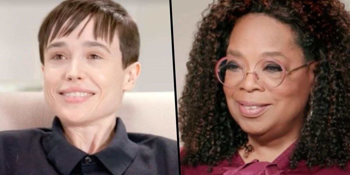 Elliot Page Tells Oprah Why He Opened Up About His Top Surgery