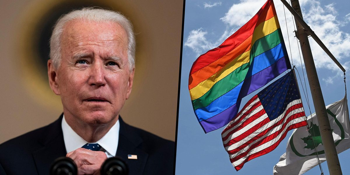 Joe Biden To Let Embassies Fly the Pride Flag on the Same Pole as the US Flag