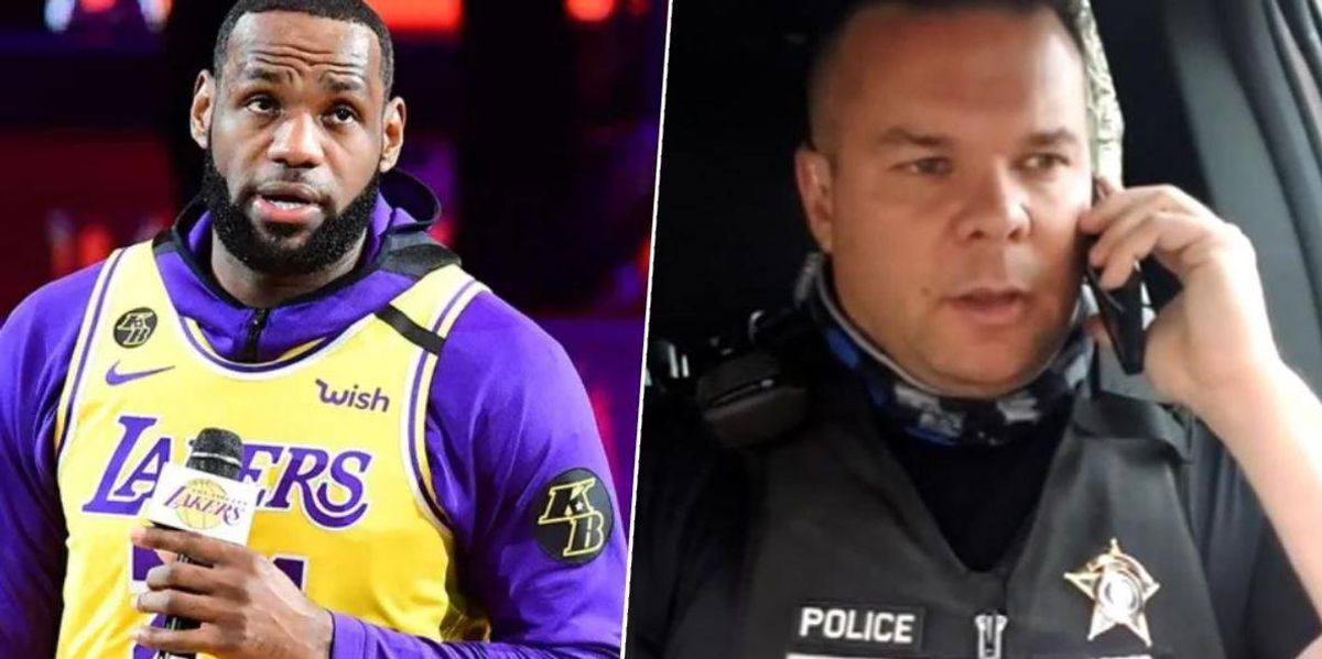 $250k Raised for Police Officer Who Got Suspended Without Pay for Mocking Lebron James