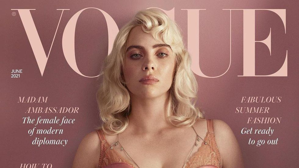 Billie Eilish Stuns on the Cover of 'British Vogue'