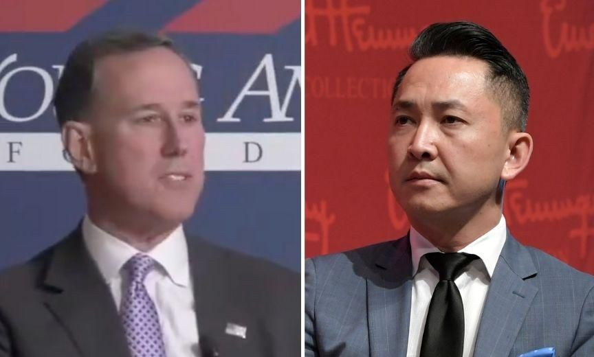 Writer Schools Santorum With Reminder of How U.S. Constitution Was 'Lifted From Native American Culture'