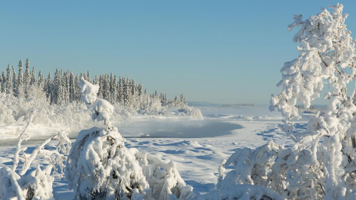 Alaska Spring River Melt Betting Tradition Now Part of Climate Record