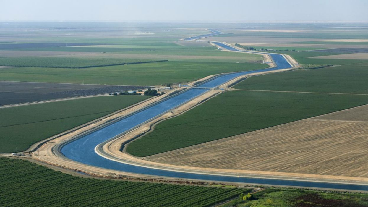 Installing Solar Panels Over California's Canals Could Yield Water, Land, Air and Climate Payoffs