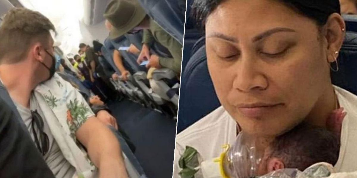 Woman Who Didn't Know She Was Pregnant Gives Birth on Flight